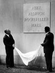 Dedication Ceremony by The Rockefeller University