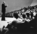 Lecture in Caspary Auditorium by The Rockefeller University