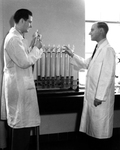 Van Potter and Dr. Rusch by The Rockefeller University