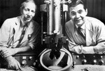 George Palade and Philip Siekevitz by The Rockefeller University