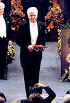 Günter Blobel received his Nobel Prize by The Rockefeller University