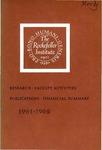 1961-1962 Annual Report