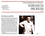 RESEARCH PROFILES by The Rockefeller University