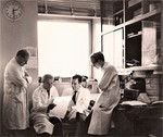 Christian de Duve in his laboratory, late 1960s by The Rockefeller University