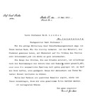 LETTER FROM EMIL FISCHER TO E. LONDON