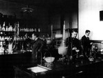 LABORATORY OF PHOEBUS LEVENE by The Rockefeller University