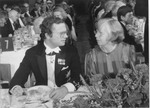 ELIZABETH MERRIFIELD WITH KING KARL GUSTAF by The Rockefeller University