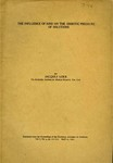 The Influence of Ions on the Osmotic Pressure of Solution by Jacques Loeb