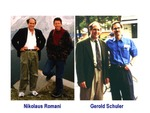 Ralph Steinman with Nikolaus Romani and Gerold Schuler by The Rockefeller University