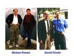 Ralph Steinman with Nikolaus Romani and Gerold Schuler