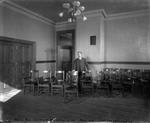 Founder's Hall. Seminar Room, ca. 1906 by The Rockefeller University