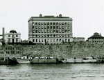 Founder's Hall. View from the East River, ca. 1915 by The Rockefeller University
