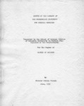 Survey of the Library, 1950