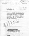 Letter to Simon Flexner, 1933