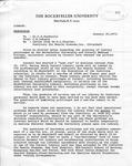 Memorandum Regarding Letter from Dr. Zierlen, 1973 by Markus Library