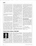 Obituary. Charles Robin LeSueur, 1923-2004