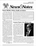 News&Notes, 1991 by The Rockefeller University