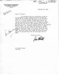 Letter to Dr. Simon Flexner, 1929