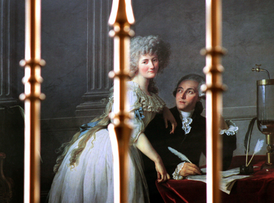 Portrait of Monsieur Lavoisier and His Wife Marie-Anne-Pierrette Paulze