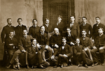 William H. Welch With the First Graduating Class of The Johns Hopkins University School of Medicine by The Rockefeller University
