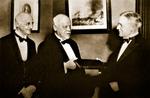 William H. Welch, Simon Flexner, and John D. Rockefeller, Jr. by The Rockefeller University