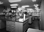 Student's Laboratory. View no. 2, 1962 by The Rockefeller University