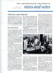 News and Notes 1970, vol. 1, no. 4 by The Rockefeller University