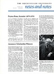 News and Notes 1970, vol. 1, no. 6