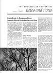 NEWS AND NOTES 1972, VOL.3, NO.7