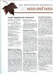 NEWS AND NOTES 1972, VOL.4, NO.1