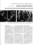 NEWS AND NOTES 1973, VOL.4, NO.4 by The Rockefeller University