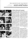 NEWS AND NOTES 1973, VOL.4, NO.5 by The Rockefeller University