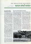 NEWS AND NOTES 1973, VOL.5, NO.1 by The Rockefeller University