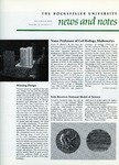 NEWS AND NOTES 1973, VOL.5, NO.2 by The Rockefeller University
