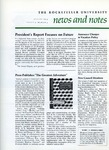 NEWS AND NOTES 1974, VOL.5, NO.4 by The Rockefeller University