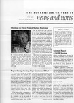 NEWS AND NOTES 1974, VOL.5, NO.8 by The Rockefeller University