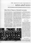NEWS AND NOTES 1974, VOL.5, NO.10 by The Rockefeller University