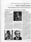 NEWS AND NOTES 1974, VOL.6, NO.2 by The Rockefeller University