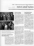 NEWS AND NOTES 1975, VOL.6, NO.8 by The Rockefeller University