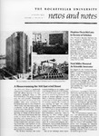 NEWS AND NOTES 1975, VOL.7, NO.1 by The Rockefeller University