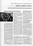 NEWS AND NOTES 1975, VOL.7, NO.2 by The Rockefeller University