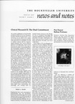 NEWS AND NOTES 1977, VOL.8, NO.5 by The Rockefeller University