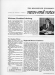 NEWS AND NOTES 1978, VOL.10, NO.1 by The Rockefeller University