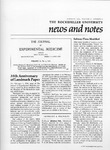 NEWS AND NOTES 1979, VOL.10, NO.5 by The Rockefeller University