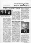 NEWS AND NOTES 1980, VOL.12, NO.1 by The Rockefeller University