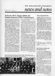 NEWS AND NOTES 1983, VOL.14, NO.5