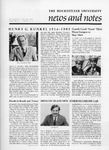 NEWS AND NOTES 1984, VOL.15, NO.3 by The Rockefeller University
