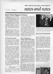 NEWS AND NOTES 1984, VOL.16, NO.1 by The Rockefeller University