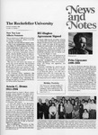 NEWS AND NOTES 1986, VOL.18, NO.1 by The Rockefeller University