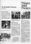 NEWS AND NOTES 1988, VOL.19, NO.3 by The Rockefeller University